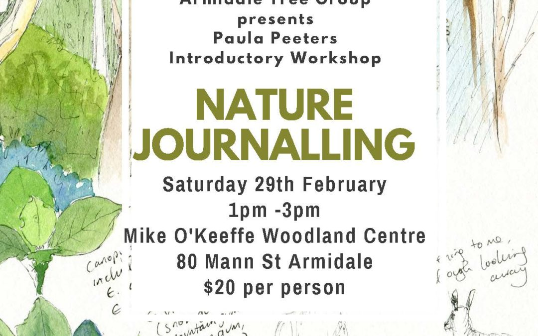 Paula Peeters Nature Journaling Workshop